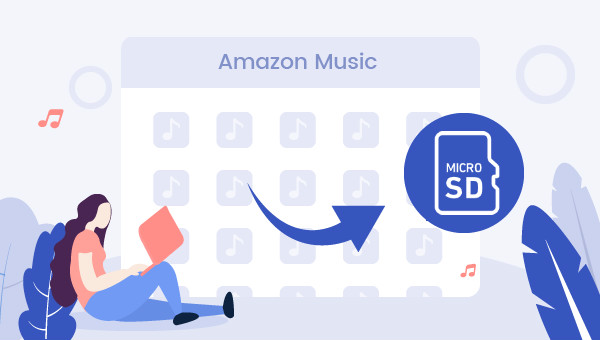 amazon music to sd card