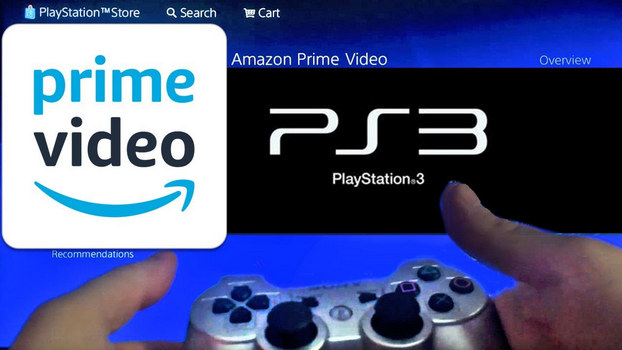 play amazon prime video on game console